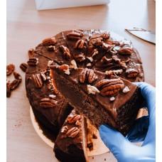 Brownie z czekoladą i orzechami pekan